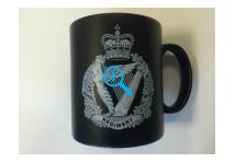 Mug - Royal Irish Regiment - Black & White