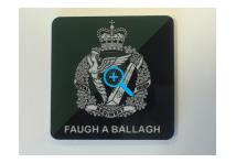 Fridge Magnet - Royal Irish Regiment - DZ