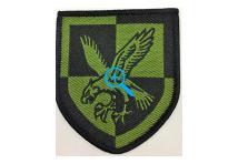 Subdued 16 Air Assault Brigade Flash - No longer Worn