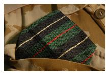 Handkerchief - Royal Irish Rangers - Silk