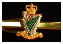 Tie Clip - Royal Irish Rangers