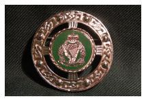 Brooch - Royal Irish Regiment