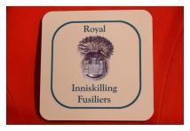 Coaster - Royal Inniskilling Fusiliers