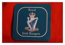 Coaster - Royal Irish Rangers
