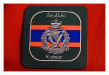 Coaster - Royal Irish Regiment