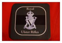 Coaster - Royal Ulster Rifles