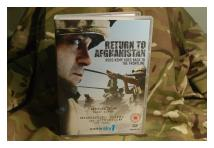 DVD - Ross Kemp - Return to Afghanistan