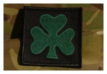 Tactical Recognition Flash - Royal Irish Regiment - Shamrock