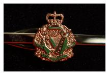 Tie Clip - Royal Irish Regiment