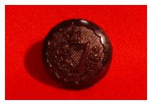 Uniform Button - Royal Irish Rangers & Royal Ulster Rifles - Black