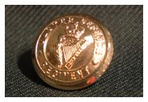 Uniform Blazer Button - Ulster Defence Regiment