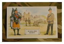 Postcard - Royal Irish Regiment