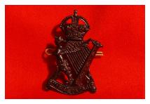 Cap Badge - Royal Ulster Rifles - Black
