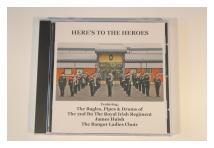 CD - Here's To The Heroes