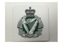 Fridge Magnet - Royal Irish Regiment - White Background
