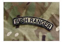 Irish Ranger Helmet Flash