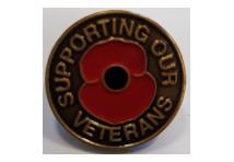 Lapel Badge - Supporting Our Veterans