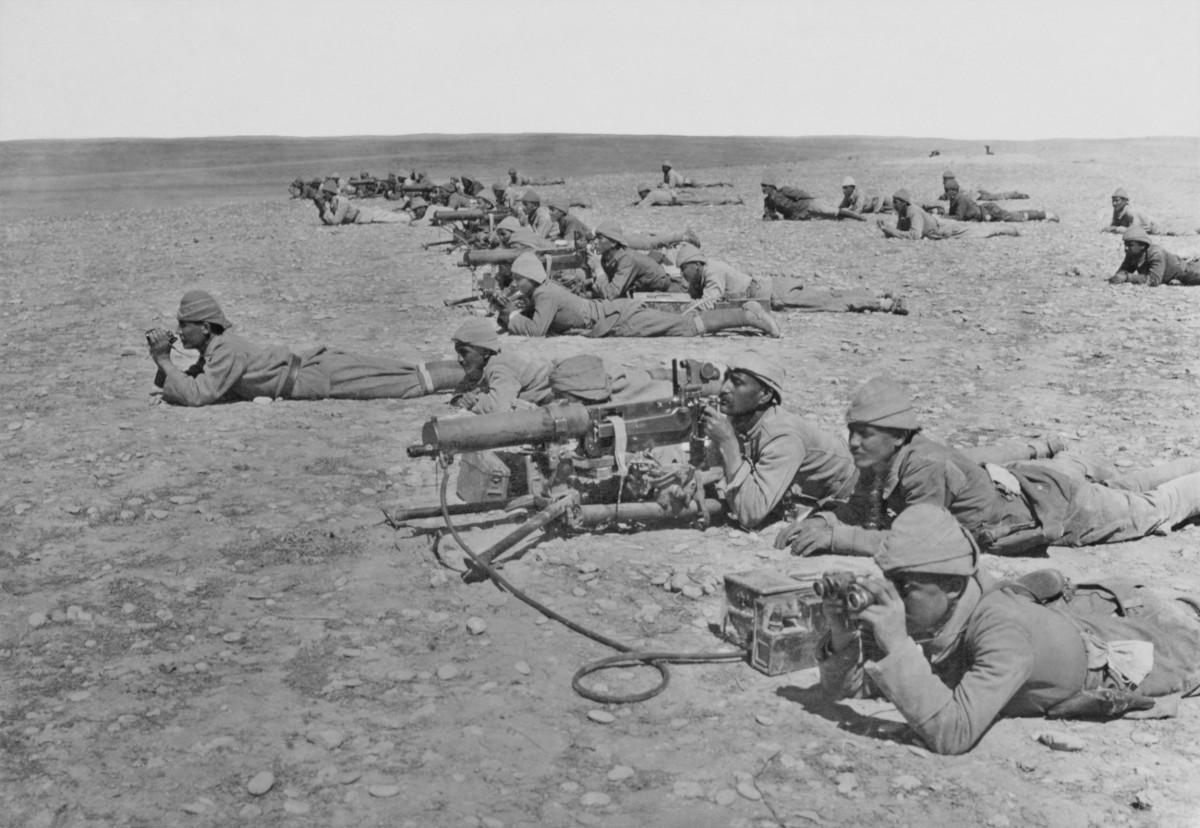 Turk MG Corps Gaza Line