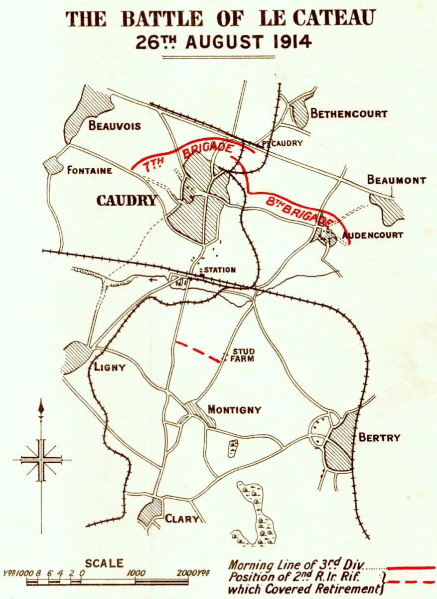 Map Le Cateau