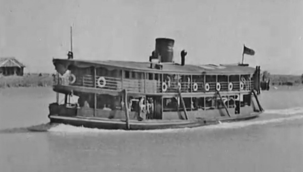 Steamer Irrawaddy/Chindwin