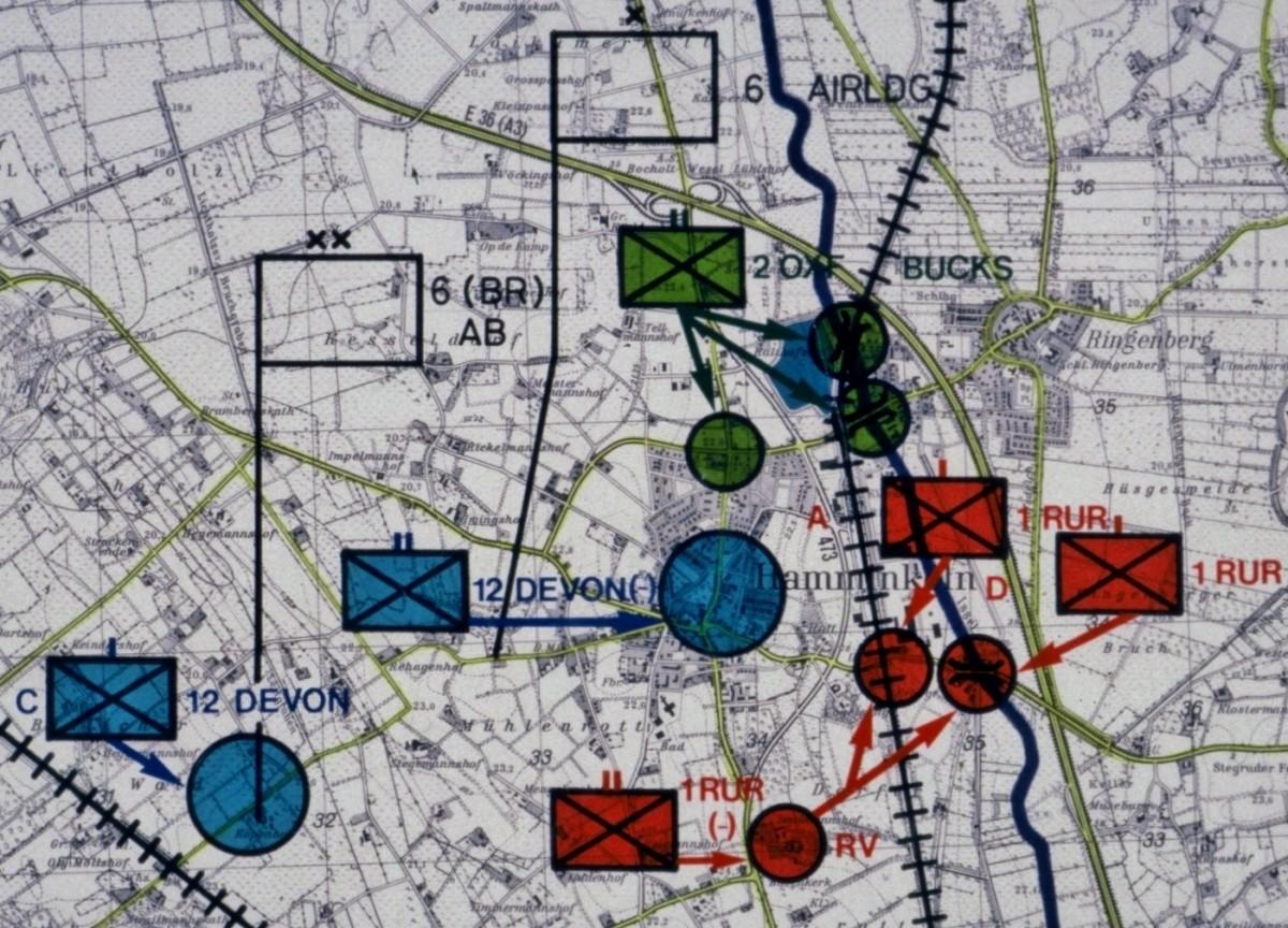 Op VARSITY 6Bde Map