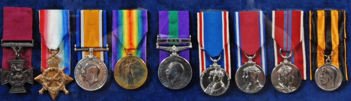 Quiggs medals