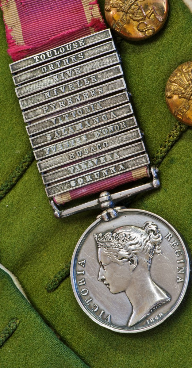 Peninsula War medal