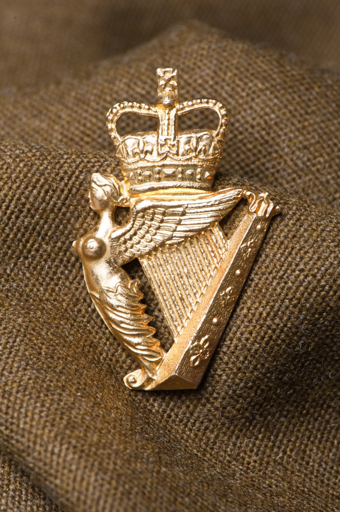 UDR Cap Badge